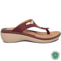 Homyped Friska N51 Sandal Wanita Marun