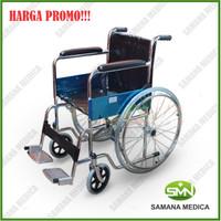 Kursi Roda standart dan praktis Ky 809 merk sellaco