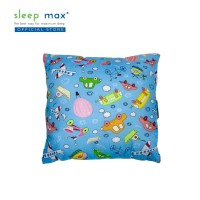 Sleep Max Cushion/Bantal Sofa Bahan Katun 45x45 Cm-Mobil Biru