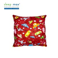 Sleep Max Cushion/Bantal Sofa Bahan Katun 45x45 Cm - Mobil Merah