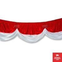 Bendera Merah Putih Background 10 Meter