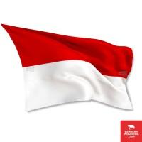 Bendera Indonesia Merah Putih 50cm x 30cm (Penyambutan Tamu Negara)