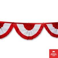 Bendera Merah Putih Begrond Kipas
