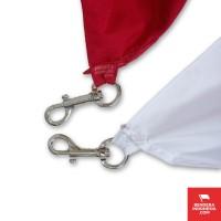 Pengait Catut Capit Bendera Merah Putih - Satu Pasang