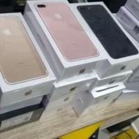 BNIB NEW IPHONE 7 Plus 128 Gb Garansi Resmi iBox Black Mate Rose Gold