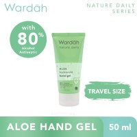 Wardah Nature Daily Aloe Hydramild Hand Gel 50 ml