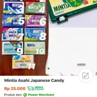 Permen Mintia Asahi Original Japan / Japanese Mintia Asahi Candy