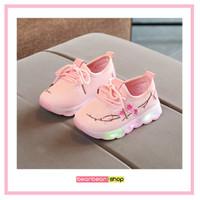 Sepatu Anak Sneaker Anak Sepatu Balita Lampu LED SAKURA