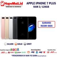 IPHONE 7 PLUS RAM 3-128GB GARANSI RESMI IBOX INDONESIA