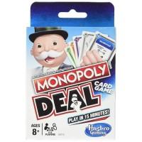 Monopoly Deal Hasbro - Mainan Kartu Anak dan Dewasa