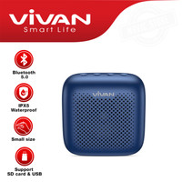 VIVAN SPEAKER WATERPROOF VS1 ORIGINAL WIRELESS BLUETOOTH AUDIO MINI