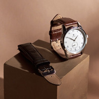 Jam Tangan Solo Timepiece - Bundle Set (Hitam & Coklat)