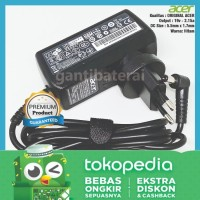 Adaptor Charger Laptop Acer Aspire One 725 756 AO725 AO756 2.15a