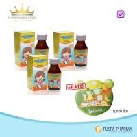 PROMO !!! Puspakids Beli 3 botol GRATIS lunch box