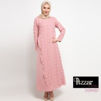 AZZAR Jane Maxi Dress in Dark Pink