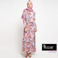 AZZAR Tyra Maxi Dress In Orange Floral print