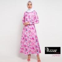 AZZAR Eris Maxi Dress In Pink Print