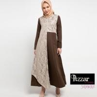 AZZAR Jini Maxi Dress In Beige