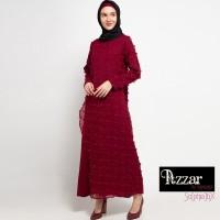 AZZAR Jane Maxi Dress in Maroon