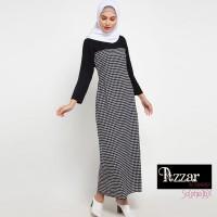 AZZAR Navit Maxi Dress In Black Print