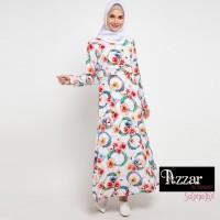 AZZAR Mahira Maxi Dress In Red Floral Print