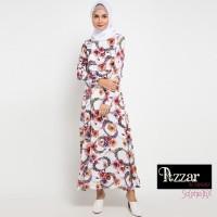 AZZAR Mahira Maxi Dress In Brown Floral Print