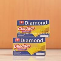Keju Cheddar Diamond 180 Gram - 1 Pcs