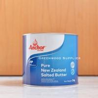Anchor Tin Butter 2KG - Salted (1 Pcs)