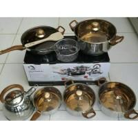 Oxone Panci / Eco Cookware Set 12+2 Pcs OX-933
