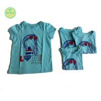 kaos anak perempuan merk Baby Gap