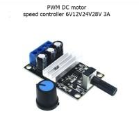 PWM DC motor speed controller 6V12V24V28V 3A speed switch 1203B