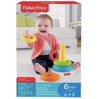 Fisher Price Rock-a-Stack mainan Batita ORIGINAL dan MURAH