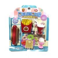 Mainan Anak Mainan Deleicious Diner Hot Dog LF43