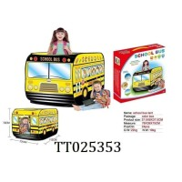 Mainan Anak Tent Tenda School Bus Dus
