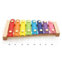 Mainan Anak Wooden Xylophone Wonderful Voice 697-38