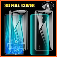 XIAOMI REDMI NOTE 8 PRO ANTI GORES FRONT+BACK HYDROGEL CLEAR PROTECTOR