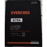 Baterai Evercross A75A Cross Original Batre Battery