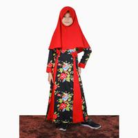 Long Dress Gamis Maxi Hijab perempuan 8 - 12 tahun - Jfashion Nurani