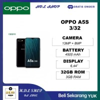 OPPO A5S 3/32 3GB RAM 32GB ROM GARANSI RESMI