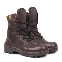 Sepatu Boots PDL Pria Safety Ujung besi Crocodile Indikators Tinggi