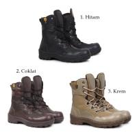 Sepatu Safety Boots Crocodile Indikators Tinggi Sepatu PDL bikers Pria