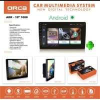 Head Unit TV mobil double din Android 10inch Orca ADR 1088