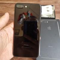 IPHONE 7 Plus 128 gb Black Mulus 100% Original NO REFURBISH Bergaransi