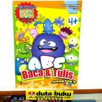buku membaca menulis anak - ABC Baca & Tulis Mosters warna