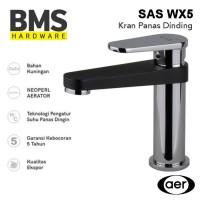 AER Kran Air Wastafel Panas Dingin Basin Mixer Faucet SAS WX5
