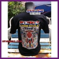 Diskon Kaos Motor Honda Beat Look Style Racing Thailook Custom Distro