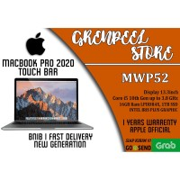 """Apple MacBook Pro 2020 13""""Inch 1TB SSD 2.0GHz MWP52 with Touch Bar"""