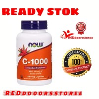 Now Foods C 1000 C 1000 vitamin C 1000mg 100 Veg Capsule ORI 100%