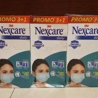 Masker Nexcare 3M 1box isi 12 pax (48masker)