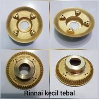 Burner TEBAL Model Rinnai Kecil/Kiri Spare Part Kompor Gas
